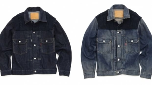 Levi's Fenom - 2nd Type Navy Knit Custom Jacket - 1