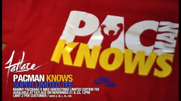 "Manny Pacquiao x Nike - ""PACMAN KNOWS"" T-Shirt - 0"