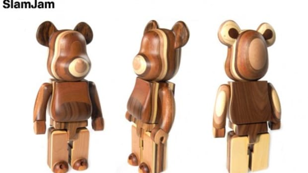 Slam Jam - Layered Wood BE@RBRICK