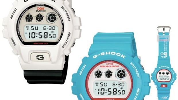 Casio G-Shock x Dave's Quality Meat (DQM) + Casio G-Shock x Lifted Research Group (LRG)