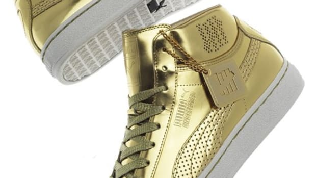 PUMA x UNDEFEATED (UNDFTD) - 24K Mid Collection - Mirror Gold