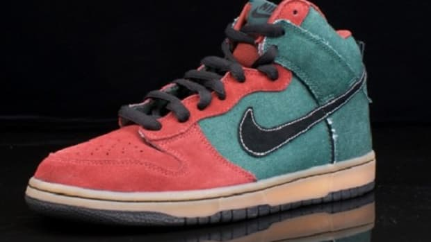 Nike SB Dunk High - Green Denim Quickstrike - 0