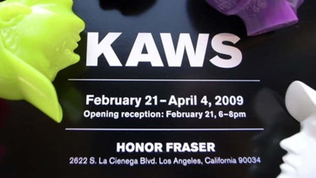 HONOR FRASER - KAWS The Long Way Home Exhibition