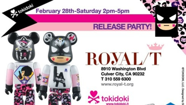 tokidoki x MEDICOM TOY - BE@RBRICK 2nd Edition