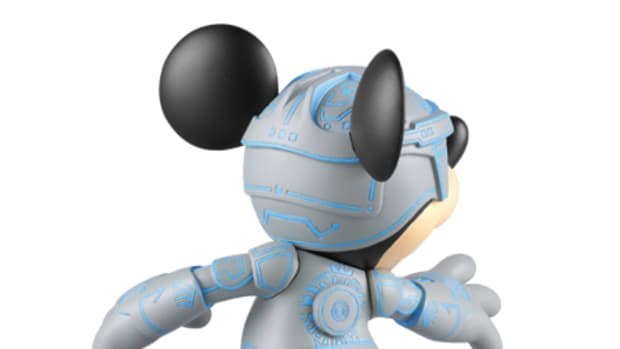 MEDICOM TOY CO x Disney - Mickey Mouse Vinyl Figure TRON Version