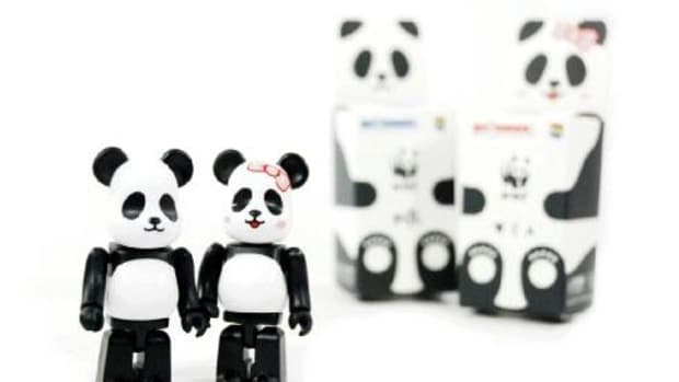 MEDICOM TOY x Milk x WWF - BE@RBRICK - 0
