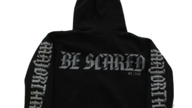 Major Threat x Karmaloop - The Be Scared Hoody - 1