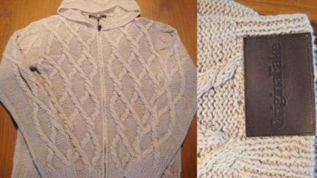 OriginalFake x NEXUSVII - Cable Knit Sweater - 1