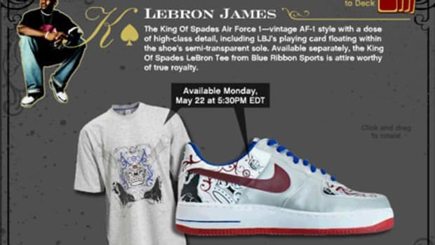 The Collection Royale - LeBron James AF 1 - 0