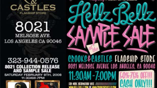 Hellz Bellz x Crooks & Castles - Sale + 8021 Release - 0