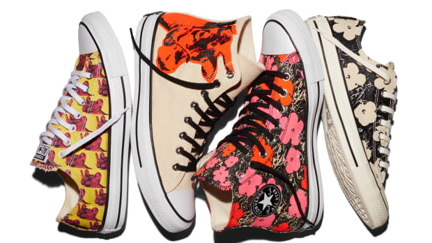 buy online 1f956 5b5fd Converse Unveils New Andy Warhol Collection for 2016