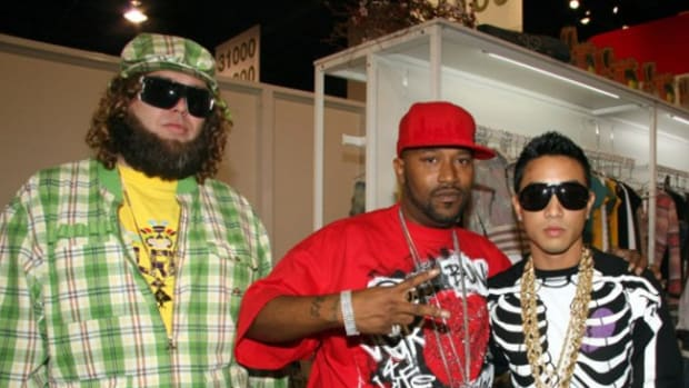 Robert Right of Lrg,Bun B and Jonas Bevacqua of Lrg