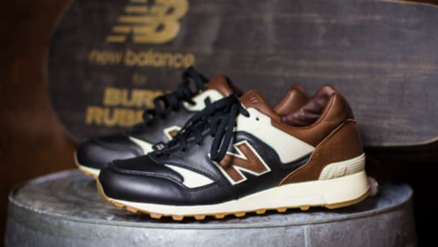 burn rubber x new balance 574 the miggy freshness mag. Black Bedroom Furniture Sets. Home Design Ideas