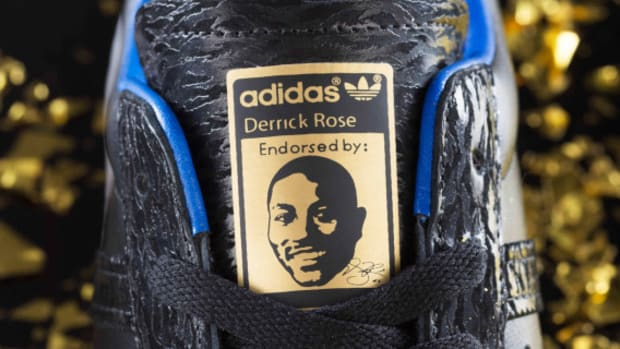 b27e0660109b adidas Celebrates Derrick Rose s 25th Birthday With Video and Autographed  Shoe Giveaway