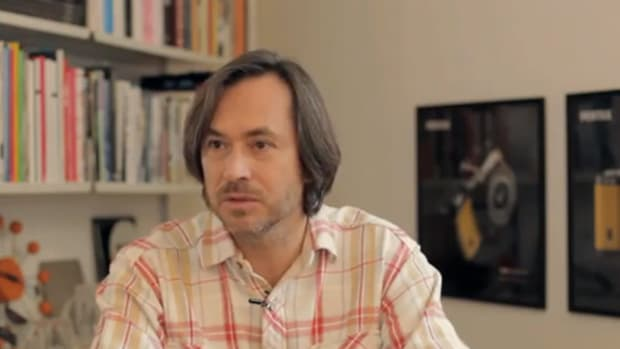 new product 6e59b 2b7a3 PENTAX - Interview with Marc Newson   Video