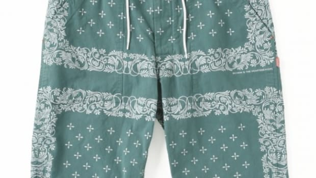 Brad 6L Bandana Pants Green