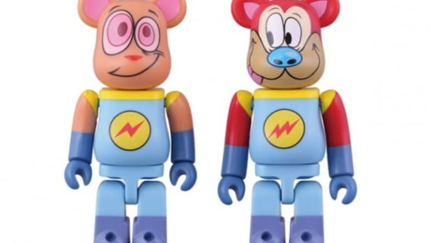 SLAM-JAM-x-MEDICOM-TOY-Ren-and-Stimpy-Bearbrick-1