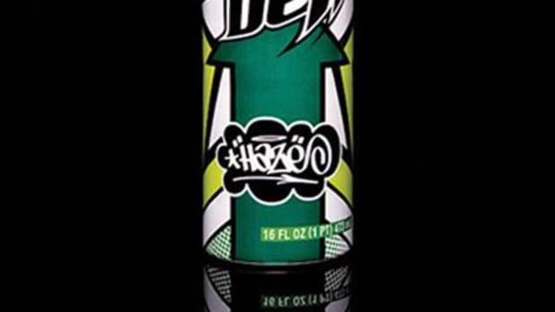 HAZE x Mountain Dew - Green Label Art - 0