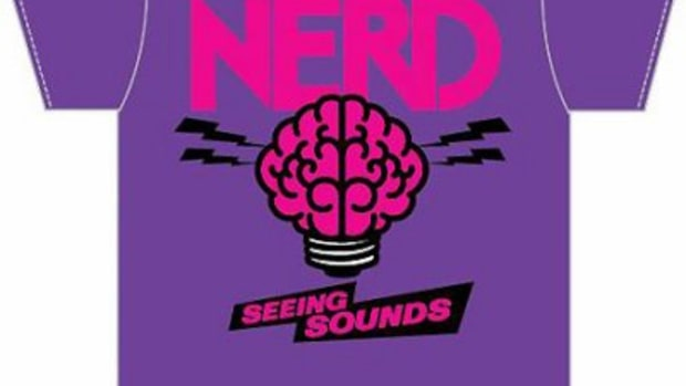 "N*E*R*D x Colette - ""Seeing Sounds"" Tee - 0"