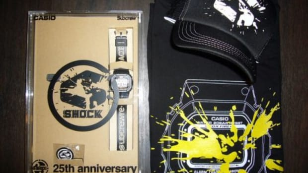 Subcrew x Casio G-Shock - 25th Anniversary Pack - 0