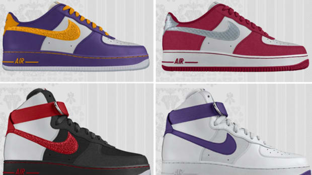 online store a0591 78b1f NIKEiD - Nike Aire Force 1 Low + High   Design Option