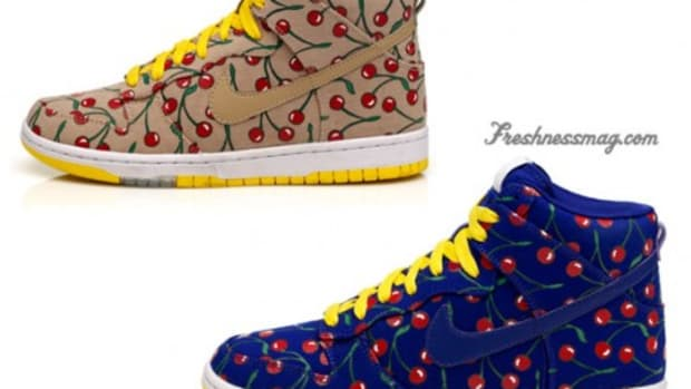 Nike x Paule Marrot - WMNS Skinny Dunks - Cherries - 0