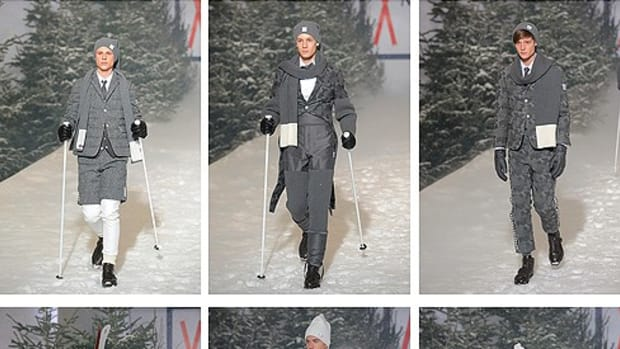 Moncler x Thom Browne - Gamme Bleu Callection - Fall 2009