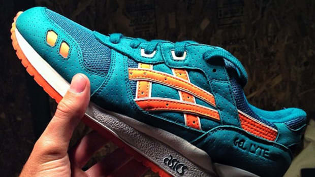 new concept 02a29 3173a Ronnie Fieg x ASICS Gel Lyte III - Teal Orange   Preview