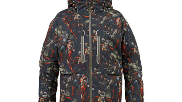 7f64304f844 Burton x Marvel - Youth Outerwear Collaboration Collection
