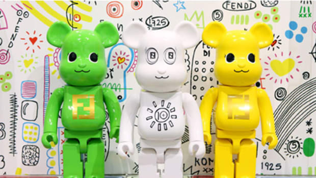 Fendi x MEDICOM TOY - BE@RBRICK - 0