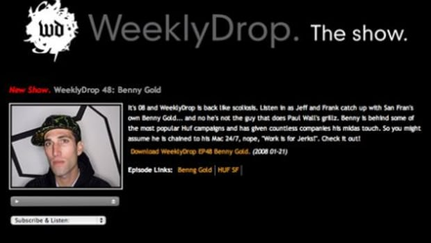 Weekly Drop - Interview with Benny Gold - 0