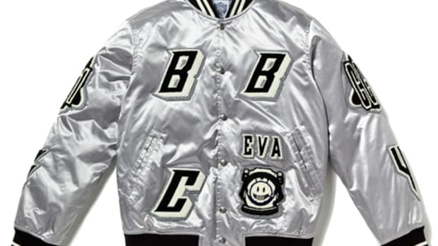 EVA Satin Varsity Jacket