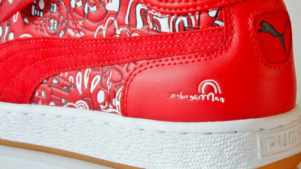 puma jon burgerman first round red summary