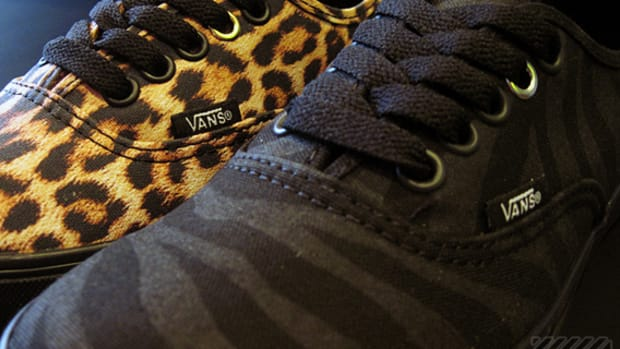 Vans Authentic Lo Pro  Leopard  Zebra