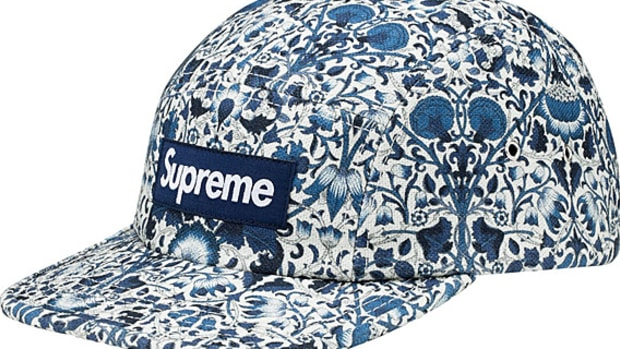 Supreme X Liberty Leopard Cord Camp Cap Available Now