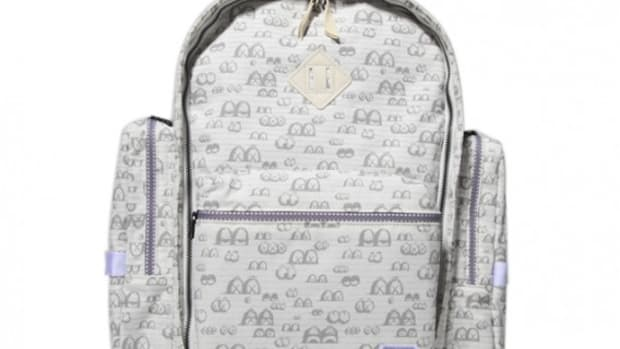 OriginalFake x PORTER - Eyes Pattern Back Pack - 01