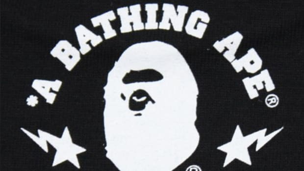 A Bathing Ape (BAPE)  BAPE - Baby Milo Graffiti T-Shirt - Black 04