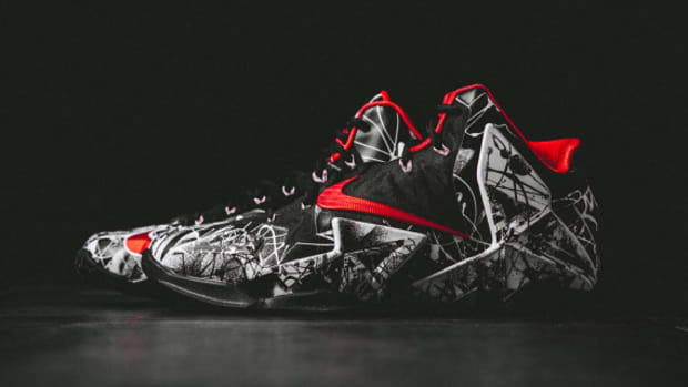 differently ec40a 72ff3 Nike LeBron 11 - Graffiti   Release Reminder