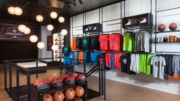 adidas in the quarter store exclusive retail experience for 2014 nba all star game 0