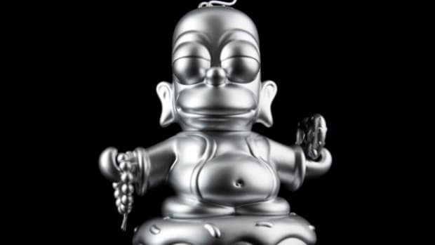 kidrobot-x-the-simpsons-homer-buddha-metallic-silver-01