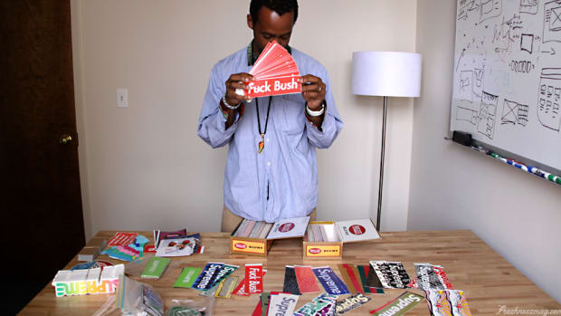 Supreme Sticker Collection   An Interview with Clarence Nathan