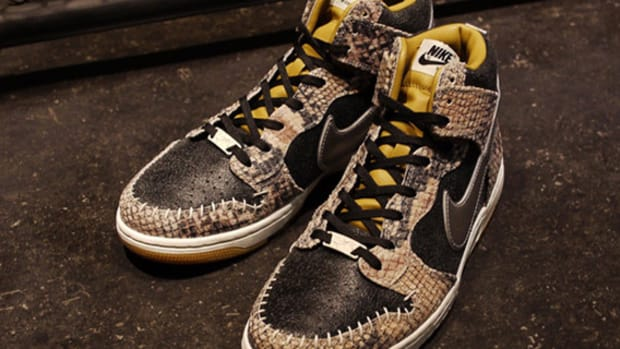 Nike Dunk High Snakeskin