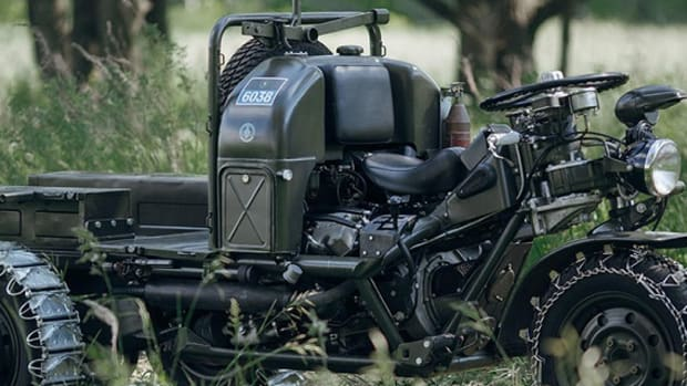 Moto Guzzi 3-Wheel Motorcycle-1