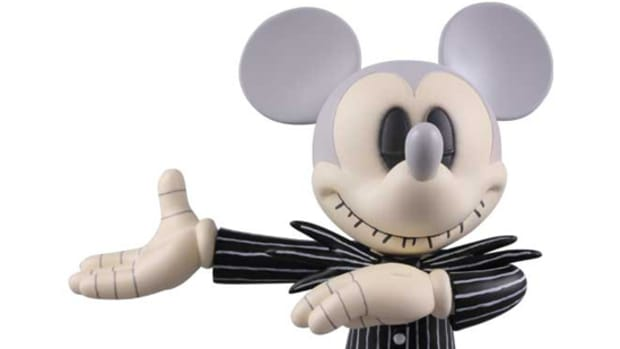 Mickey Mouse Jack Skeleton Version 3