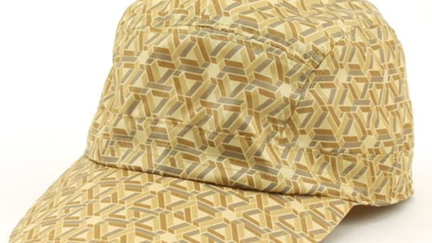 Geometric Sports Cap Yellow
