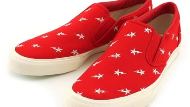 Bape Sta Embroidery Slipoff Red