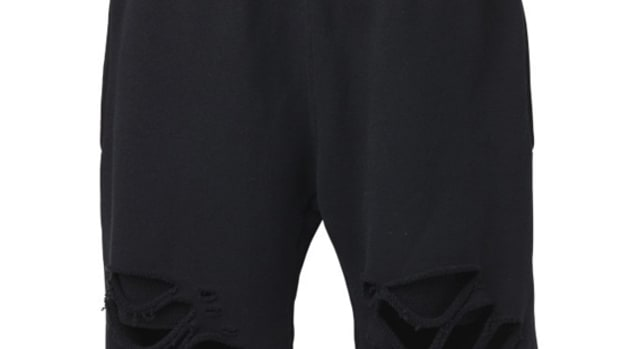 Damage Sweat Shorts Black