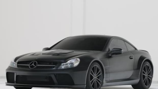 SL65 AMG Black Series