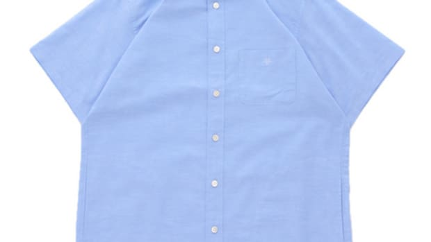 Back Pocket Oxford Shirt Blue