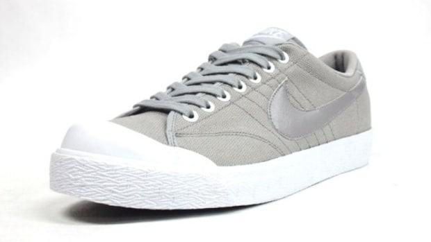 All Court Canvas Gray